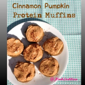 Get ready for pumpkin season with Cinnamon Pumpkin Protein Pancakes!